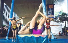 Chinese Contortion Training
